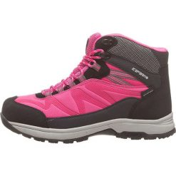 """Buty trekkingowe damskie: Botki turystyczne """"Wright"""" w kolorze szaro-różowym"""