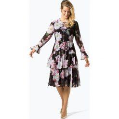 Ted Baker - Sukienka damska – Betssie, czarny. Czarne sukienki z falbanami marki Ted Baker, z materiału. Za 799,95 zł.