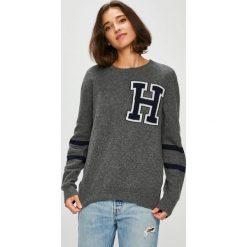 Swetry oversize damskie: Tommy Hilfiger - Sweter