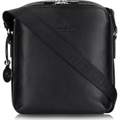 Torba 20-3-049-11. Czarne torby na ramię męskie marki Wittchen, w paski, do ręki, małe. Za 879,00 zł.