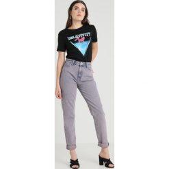 Lee MOM STRAIGHT Jeansy Straight Leg lilac moonstone - 2