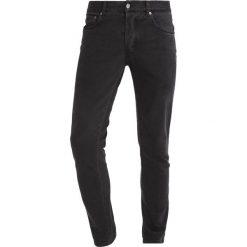 Knowledge Cotton Apparel Jeansy Slim Fit phantom. Czarne jeansy męskie Knowledge Cotton Apparel. W wyprzedaży za 335,20 zł.