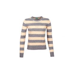 Swetry Benetton  MIRBELA. Szare swetry klasyczne damskie marki Benetton, l. Za 179,00 zł.