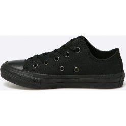 Converse - Tenisówki chuck taylor all star ii. Czarne buty sportowe dziewczęce Converse, z materiału. W wyprzedaży za 179,90 zł.