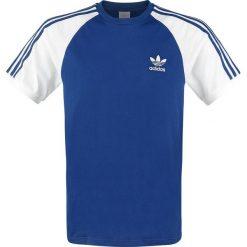 T-shirty męskie: Adidas 3-Stripes T-Shirt T-Shirt niebieski/biały