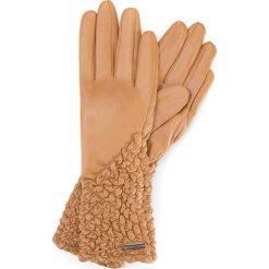 Rękawiczki damskie 39-6L-214-L. Brązowe rękawiczki damskie marki Wittchen. Za 149,00 zł.