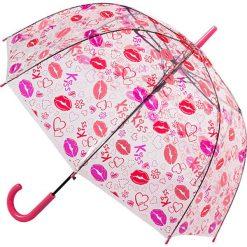 """Parasole: Parasol """"Heart Kiss"""" w kolorze czerwono-różowym"""