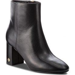 Botki TORY BURCH - Brooke Bootie 46063 Perfect Black 001. Czarne buty zimowe damskie Tory Burch, ze skóry. Za 1679,00 zł.