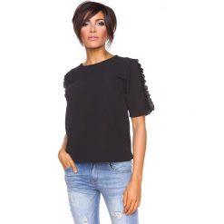 """T-shirty damskie: Koszulka """"Aline"""" w kolorze czarnym"""
