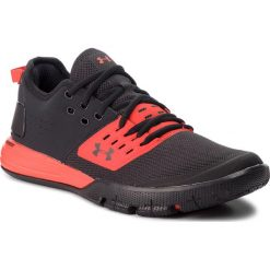 Buty UNDER ARMOUR - Ua Charged Ultimate 3.0 3020548-002 Blk. Czarne buty do biegania męskie marki Under Armour, z materiału. W wyprzedaży za 259,00 zł.