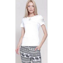 T-shirty damskie: Biały T-shirt All The things