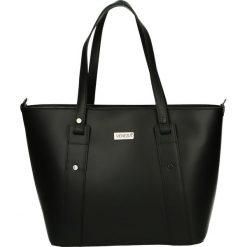 Torba - 153-4-O R NER. Czarne torebki klasyczne damskie Venezia, ze skóry. Za 359,00 zł.