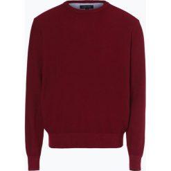 Andrew James - Sweter męski, czerwony. Czerwone swetry klasyczne męskie Andrew James, m, z bawełny, z okrągłym kołnierzem. Za 129,95 zł.