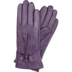 Rękawiczki damskie 39-6-537-P. Fioletowe rękawiczki damskie Wittchen. Za 99,00 zł.