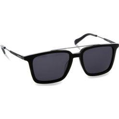 Okulary przeciwsłoneczne BOSS - 0305/S Black 807. Czarne okulary przeciwsłoneczne męskie aviatory Boss, z tworzywa sztucznego. W wyprzedaży za 419,00 zł.
