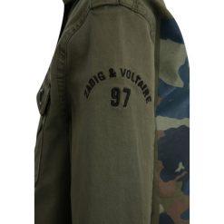 Zadig & Voltaire Kurtka przejściowa kaki. Brązowe kurtki chłopięce przejściowe marki Zadig & Voltaire, z bawełny. Za 399,00 zł.
