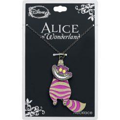 Naszyjniki damskie: Alicja w Krainie Czarów Movable Cheshire Cat Naszyjnik różowy