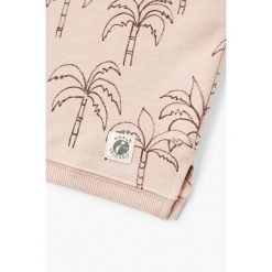 Mango Kids - Top dziecięcy Surfista 110-164 cm. Szare bluzki dziewczęce Mango Kids, z bawełny, z okrągłym kołnierzem, z krótkim rękawem. W wyprzedaży za 49,90 zł.