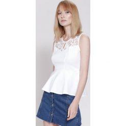 Bluzki damskie: Biała Bluzka  Lily Shape