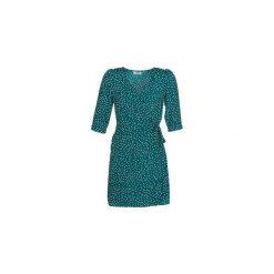 Sukienki krótkie Betty London  JAHAMA. Zielone sukienki mini marki Betty London, l, z krótkim rękawem. Za 125,30 zł.