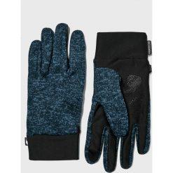 Columbia - Rękawiczki. Czarne rękawiczki męskie Columbia, z dzianiny. Za 129,90 zł.
