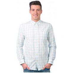 Pepe Jeans Koszula Męska Imbe L Turkusowy. Niebieskie koszule męskie jeansowe marki Pepe Jeans, l. W wyprzedaży za 202,00 zł.