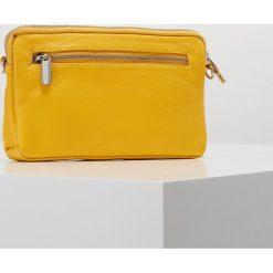 DEPECHE SMALL BAG Kopertówka yellow. Żółte puzderka DEPECHE. Za 369,00 zł.
