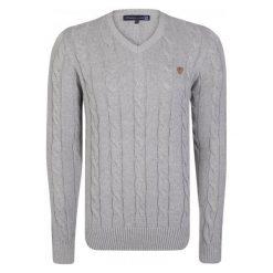 Giorgio Di Mare Sweter Męski M Szary. Szare swetry klasyczne męskie marki Giorgio di Mare, m, z bawełny. W wyprzedaży za 199,00 zł.
