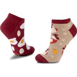 Skarpety Niskie Unisex MANY MORNINGS - Egg And Chicken Kolorowy. Czerwone skarpetki męskie marki Happy Socks, z bawełny. Za 19,00 zł.