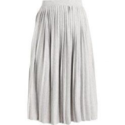 Spódniczki plisowane damskie: b.young SOFI SKIRT Spódnica trapezowa light grey melange