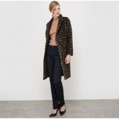 Płaszcze damskie: Płaszcz w panterkę
