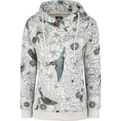 Bluzy rozpinane damskie: Khujo Greta Bluza z kapturem damska biały/niebieski