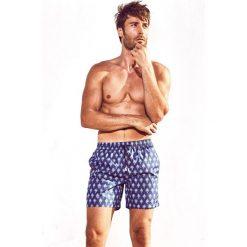 Kąpielówki męskie: Męskie szorty kąpielowe DAVID 52 Tie Print Caicco