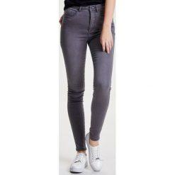 Rurki damskie: ONLY Jeans Skinny Fit medium grey