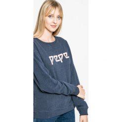 Pepe Jeans - Bluza Jimena. Szare bluzy rozpinane damskie Pepe Jeans, m, z nadrukiem, z bawełny. W wyprzedaży za 199,90 zł.