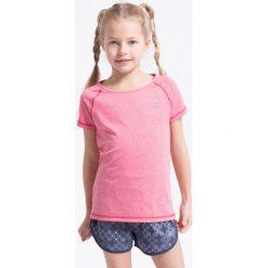 Bluzki dziewczęce: Koszulka sportowa dla małych dziewczynek JTSD300Z – róż melanż