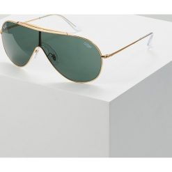 RayBan Okulary przeciwsłoneczne goldcoloured. Żółte okulary przeciwsłoneczne damskie lenonki Ray-Ban. Za 679,00 zł.