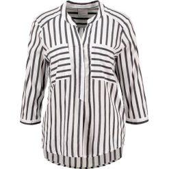 Bluzki asymetryczne: Vero Moda VMERIKA Bluzka snow white/black