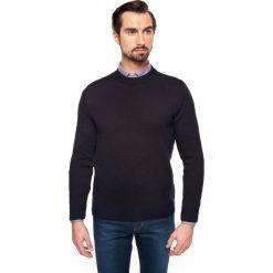 Swetry męskie: sweter marin półgolf granatowy