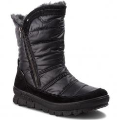 Śniegowce LEGERO - GORE-TEX 3-00932-02 Schwarz Kombi. Czarne buty zimowe damskie Legero, z gore-texu. Za 549,00 zł.