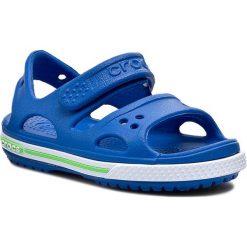 Sandały CROCS - Crocband II Sandal 14854 Niebieski. Niebieskie sandały chłopięce Crocs, z tworzywa sztucznego. Za 129,00 zł.
