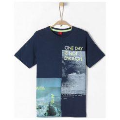 S.Oliver T-Shirt Chłopięcy Xl Ciemny Niebieski. Niebieskie t-shirty chłopięce marki S.Oliver. Za 69,00 zł.