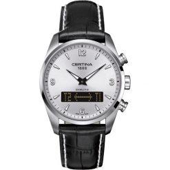 PROMOCJA ZEGAREK CERTINA DS. MULTI-8 C020.419.16.037.00. Szare, analogowe zegarki męskie CERTINA, ze stali. W wyprzedaży za 2499,20 zł.