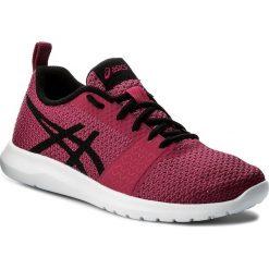 Buty ASICS - Kanmei T7H6N Cosmo Pink/Black/Plune 2090. Fioletowe buty sportowe damskie marki KALENJI, z gumy, do biegania. W wyprzedaży za 189,00 zł.