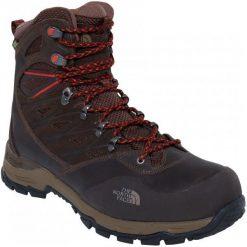 The North Face Buty Trekkingowe M Hedgehog Trek Gtx Demitasse Brown/Tibetan Orange 43. Brązowe buty trekkingowe męskie marki The North Face, z gore-texu, wspinaczkowe, gore-tex. Za 805,00 zł.