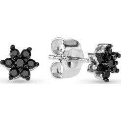 Biżuteria i zegarki: Srebrne Kolczyki – srebro 925, Cyrkonia
