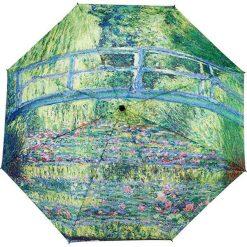 """Parasole: Parasol """"Monet – Japanese Bridge"""" w kolorze zielono-błękitnym"""
