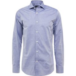 Tiger of Sweden FARRELL SLIM FIT Koszula biznesowa blue. Brązowe koszule męskie slim marki Tiger of Sweden, m, z wełny. Za 419,00 zł.