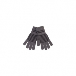 Rękawiczki damskie w paski. Szare rękawiczki damskie TXM, w paski. Za 7,99 zł.