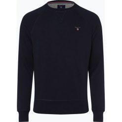 Gant - Męska bluza nierozpinana, niebieski. Niebieskie bejsbolówki męskie GANT, m, prążkowane. Za 379,95 zł.